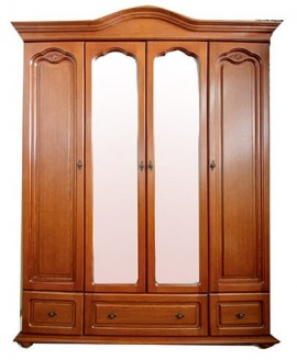 Шкаф Элеонора стиль Эльза 4-х дверный