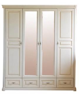 Шкаф Элеонора стиль Виктория 4-х дверный