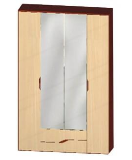 Шкаф МастерФорм Доминика 4-х дверный