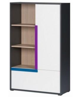 Детский шкаф ВМВ Алекс 2D (стеллаж)