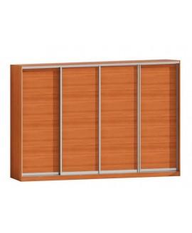 Шкаф-купе 4-х дверный Комфорт мебель Стандарт (2800х600х2400)