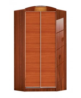 Шкаф-купе угловой Комфорт мебель Стандарт (1100х1100х2400)