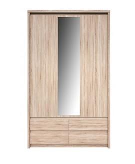 Шкаф ВМВ Нортон SZF 3D4S (с зеркалом)