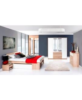 Спальня ВМВ Рико (дуб сонома/белый)