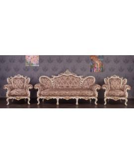Комплект мягкой мебели Курьер Белла 3+1+1