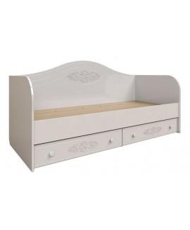 Кровать детская Неман Анжелика (белый)