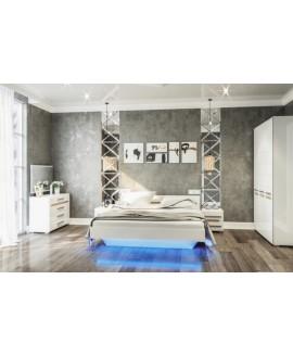 Спальня Світ меблів Бьянко (мдф)
