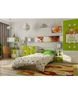 Детская кровать Luxe Studio Apple с бортиками