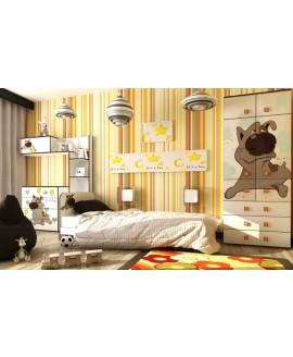 Детская кровать Luxe Studio Joy с бортиком