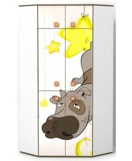 Детский шкаф Luxe Studio Joy угловой