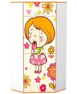 Детский шкаф Luxe Studio Mandarin угловой