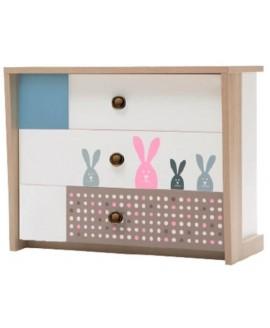 Комод детский Luxe Studio Banny (Кролик)