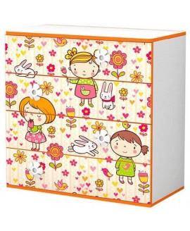 Комод детский Luxe Studio Mandarin (Мандаринка)