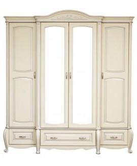 Шкаф Элеонора стиль Анна 4-х дверный