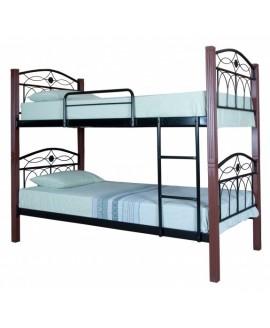Двухъярусная кровать Melbi Элизабет 0,9