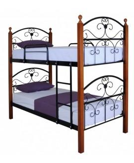 Двухъярусная кровать Melbi Патриция вуд 0,9