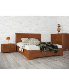 Кровать Олимп Милена 1,6 (с интарсией и механизмом)