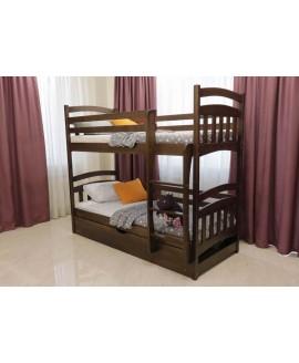 Двухъярусная кровать Дримка Бемби 0,9 (пм)