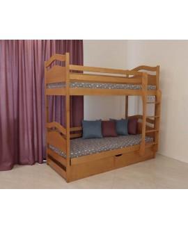 Двухъярусная кровать Дримка Винни Пух 0,9 (пм)