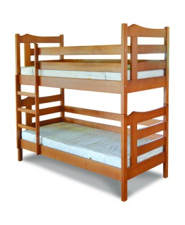 Двухъярусная кровать Лев Санта 0,9
