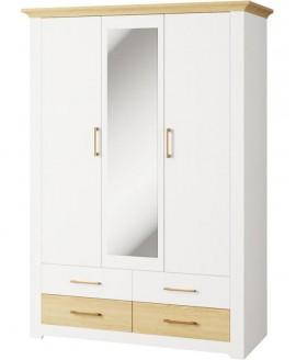 Шкаф Світ Меблів Валерио 3Д 4Ш
