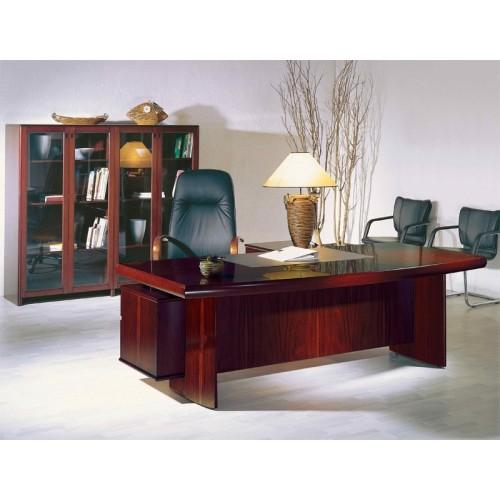 Стол руководителя YDK 309, с кожаной накладкой