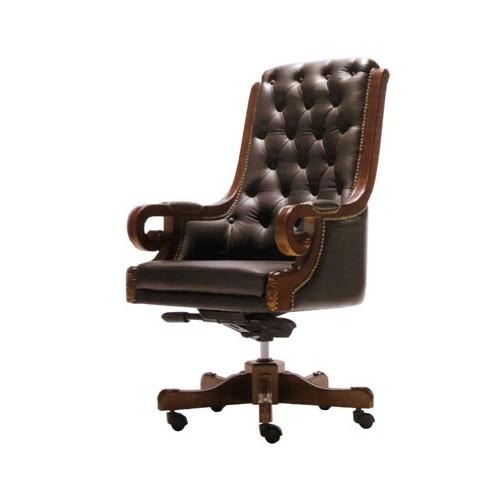 Кресло руководителя Роял (кожа)