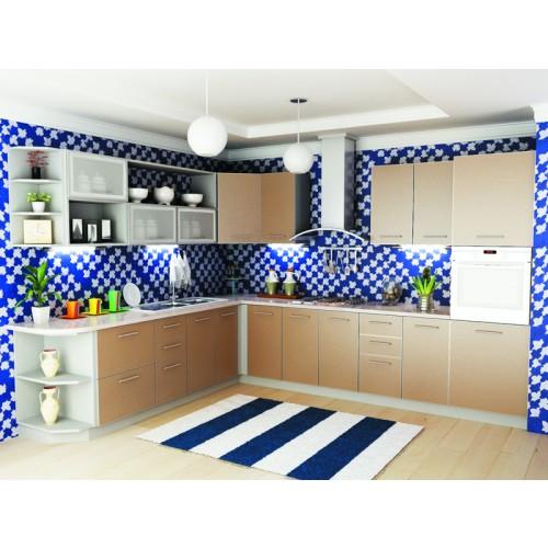 Кухня модульная Капучино (2700x2600x2132)