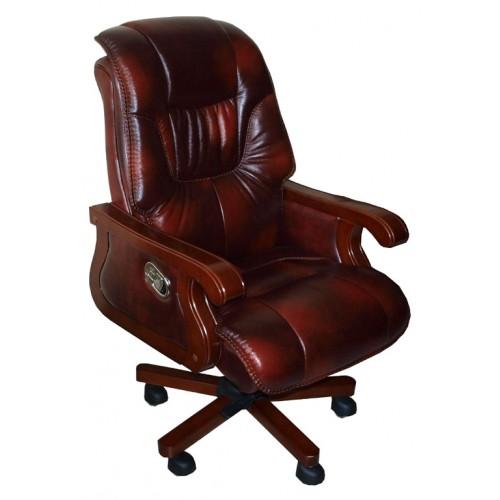 Кресло руководителя Мемфис (кожа) фабрики Диал купить в Киеве недорого | СоюзМебель