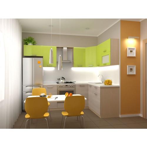Кухня модульная Киви (1600x1400x2132)