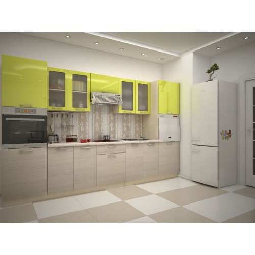 Кухня модульная Киви (3400x600x2132)