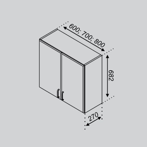 Кухонный модуль Оля В 60