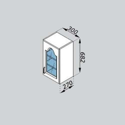 Кухонный модуль Тюльпан В 30Ск