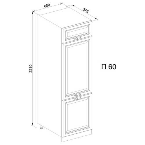 Кухонный модуль Роксана П 60