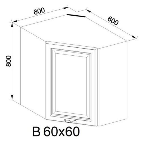Кухонный модуль Роксана В 60х60