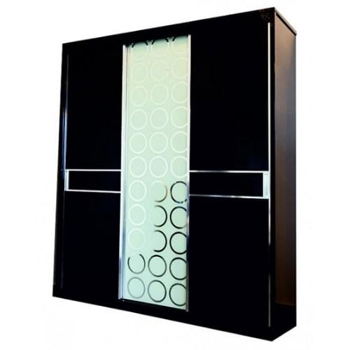 Шкаф Черный бриллиант 3-х дверный