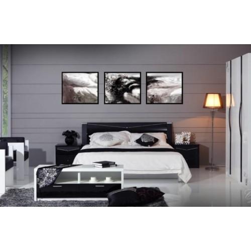 Спальня Черный бриллиант (глянец)