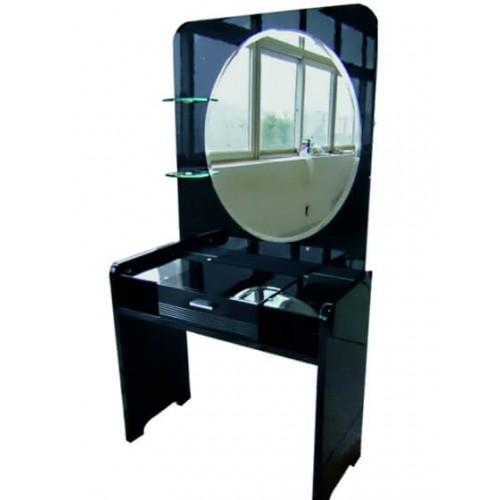 Туалетный столик Черный бриллиант с зеркалом