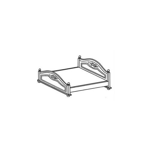 Кровать Эльза 1,6