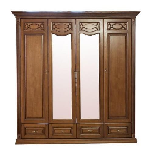 Шкаф 4-х дверный Элеонора нова