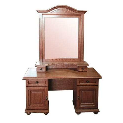 Туалетный столик Эльза двухтумбовый с зеркалом