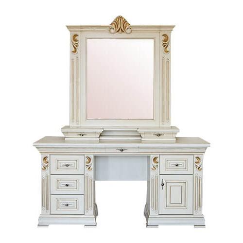 туалетный столик мария с зеркалом и надставкой фабрики элеонора
