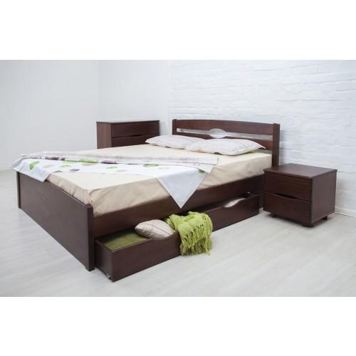 Кровать Лика Люкс 1,8 (с ящиками)