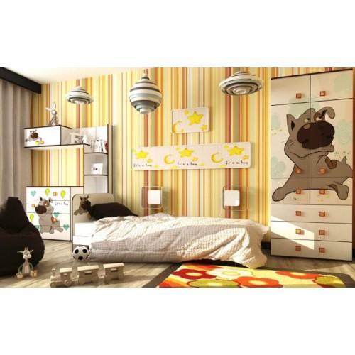 Детская кровать Joy с бортиком