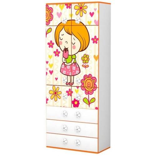 Детский шкаф Mandarin (Мандаринка)