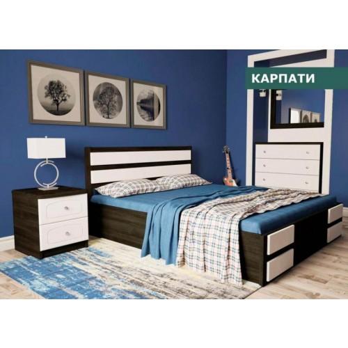 Кровать Карпаты 1,6 (п/м)