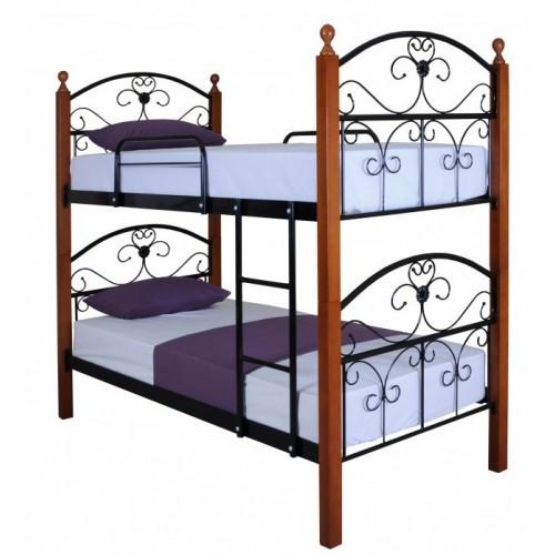 Двухъярусная кровать Патриция вуд 0,9