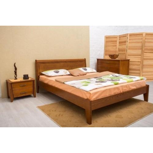 Кровать Сити 1,6 (без изножья с интарсией)