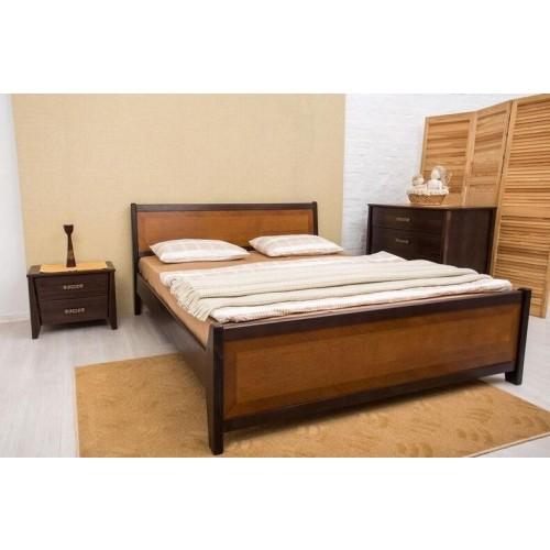 Кровать Сити 1,8 (с интарсией)