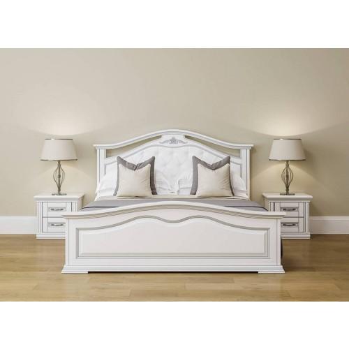 Кровать Неаполь 1,6 (дерево)